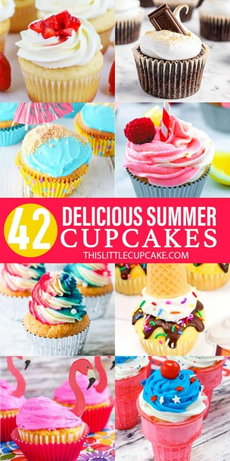 Cupcakes for Summer